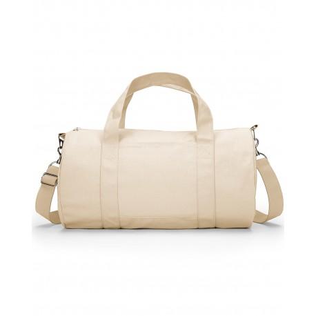 3301 Liberty Bags 3301 Grant Cotton Canvas Duffel Bag NATURAL
