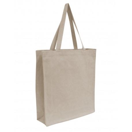 OAD100 OAD OAD100 Promo Canvas Shopper Tote NATURAL
