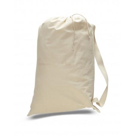 OAD109 OAD OAD109 Medium 12 oz Laundry Bag NATURAL