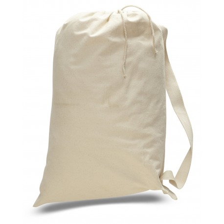 OAD110 OAD OAD110 Large 12 oz Laundry Bag NATURAL