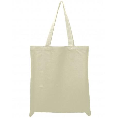 OAD113 OAD OAD113 12 oz Tote Bag NATURAL