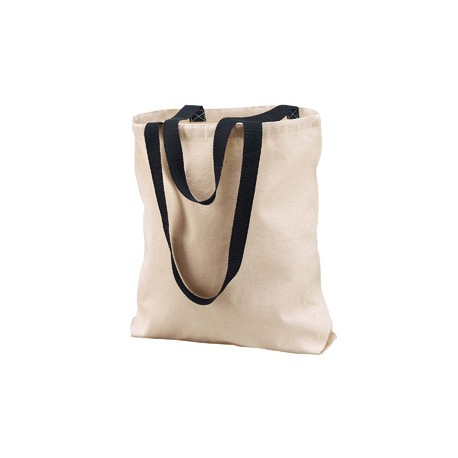 8868 Liberty Bags 8868 Marianne Cotton Canvas Tote NATURAL/BLACK