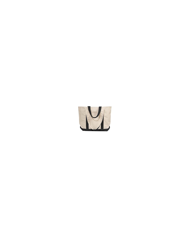 8871 Liberty Bags NATURAL/BLACK