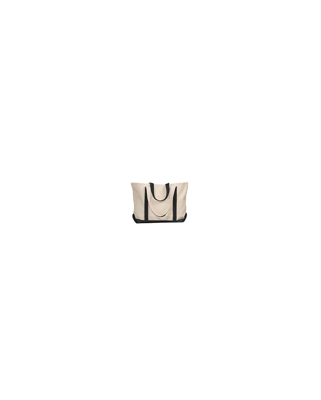 8872 Liberty Bags NATURAL/BLACK