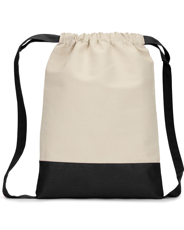 8876 Liberty Bags NATURAL/BLACK
