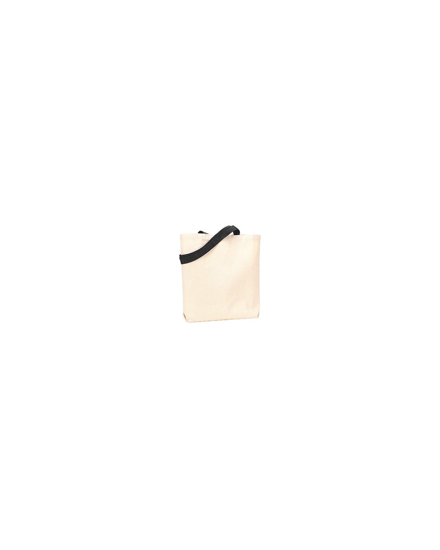 9868 Liberty Bags NATURAL/BLACK