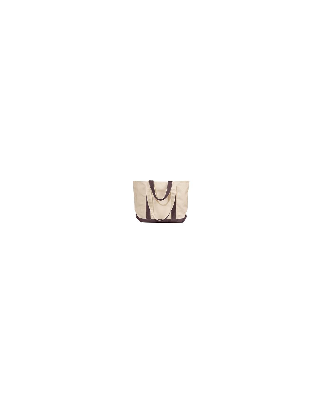 8871 Liberty Bags NATURAL/BROWN