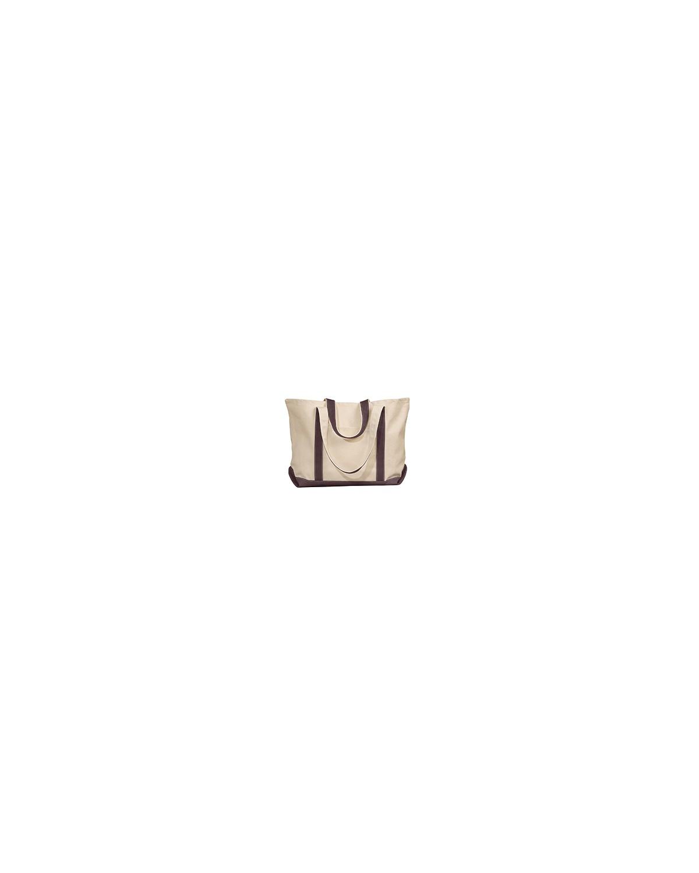 8872 Liberty Bags NATURAL/BROWN