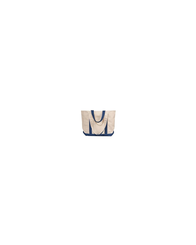 8871 Liberty Bags NATURAL/NAVY