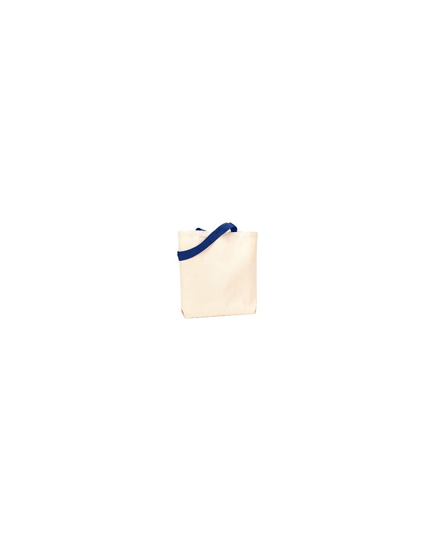 9868 Liberty Bags NATURAL/NAVY