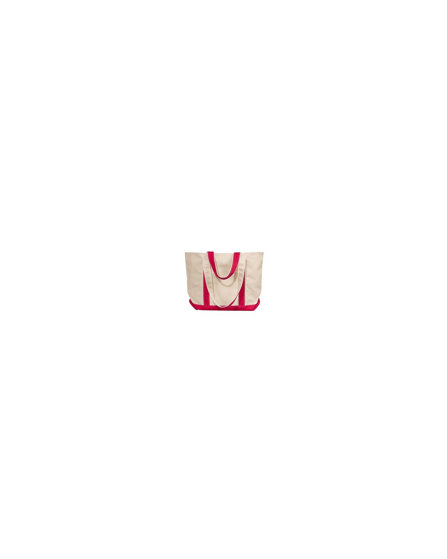 8871 Liberty Bags NATURAL/RED