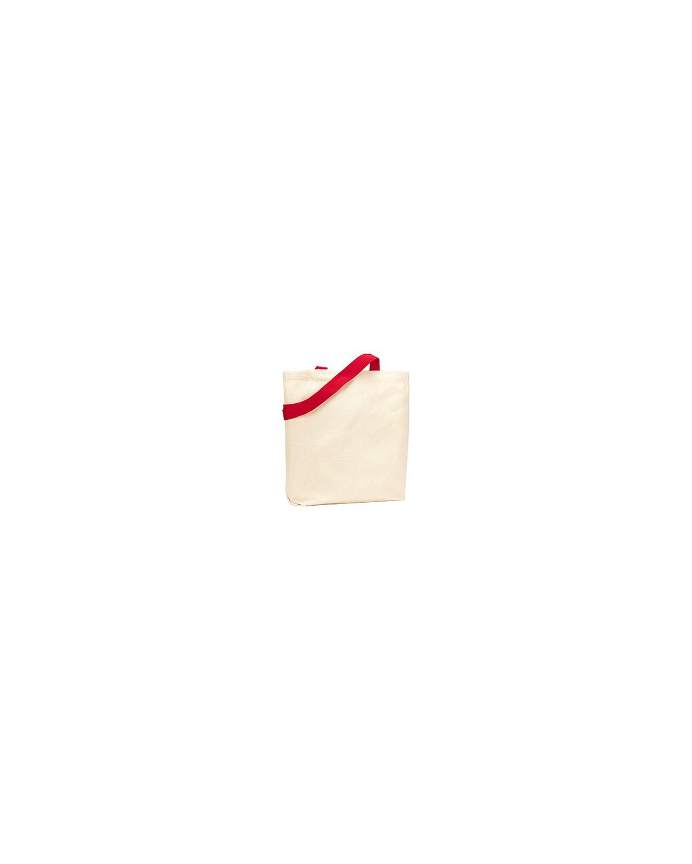 9868 Liberty Bags NATURAL/RED