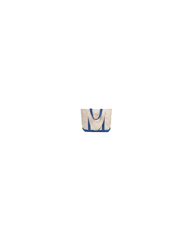 8871 Liberty Bags NATURAL/ROYAL