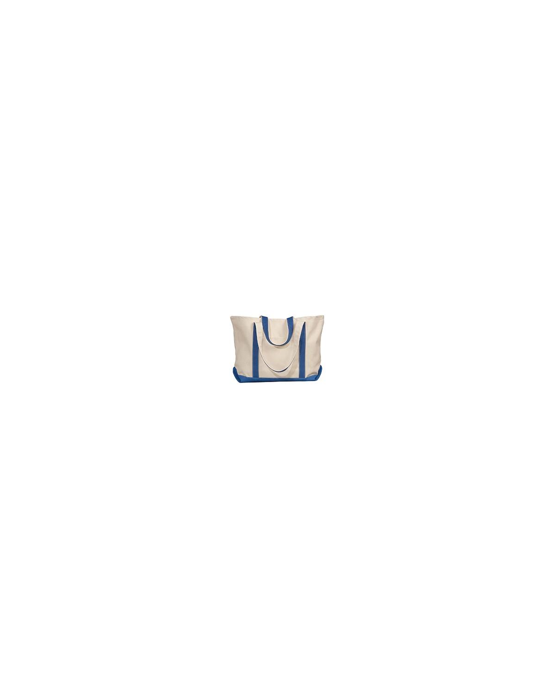 8872 Liberty Bags NATURAL/ROYAL