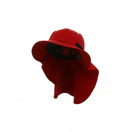 ACXM101 Adams ACXM101 AD EXTREME CONDITION NECK CAPE CAP NAUT RED/BLACK