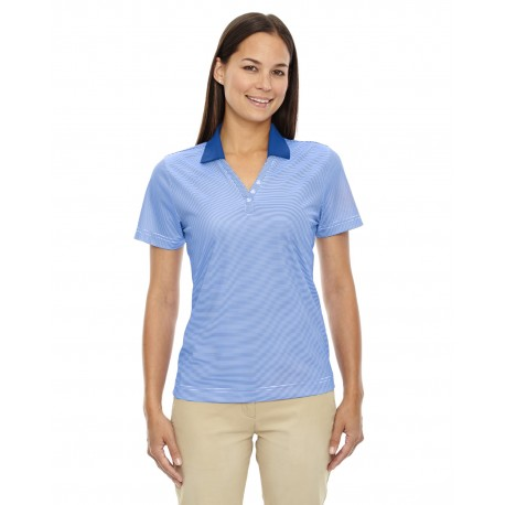 75115 Extreme 75115 Ladies' Eperformance Launch Snag Protection Striped Polo NAUTICL BLUE 413