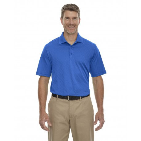 85116 Extreme 85116 Men's Eperformance Stride Jacquard Polo NAUTICL BLUE 413