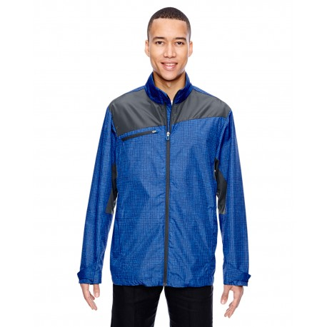 88805 North End 88805 Men's Sprint Interactive Printed Lightweight Jacket NAUTICL BLUE 413