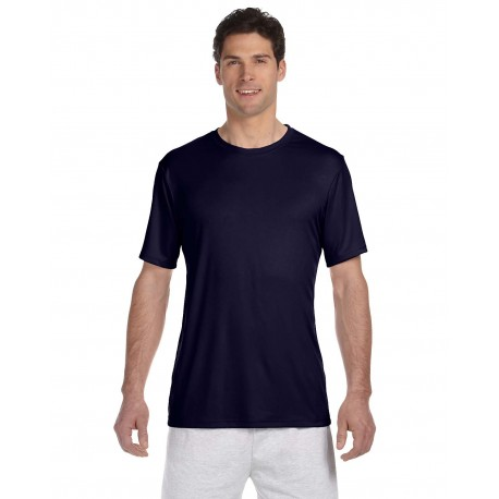 4820 Hanes 4820 Adult Cool DRI with FreshIQ T-Shirt NAVY