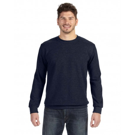 72000 Anvil 72000 Adult Crewneck French Terry NAVY