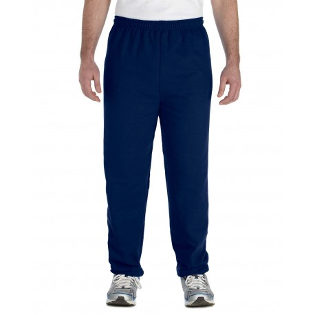 G182 Gildan G182 Adult Heavy Blend Adult 8 oz., 50/50 Sweatpants NAVY