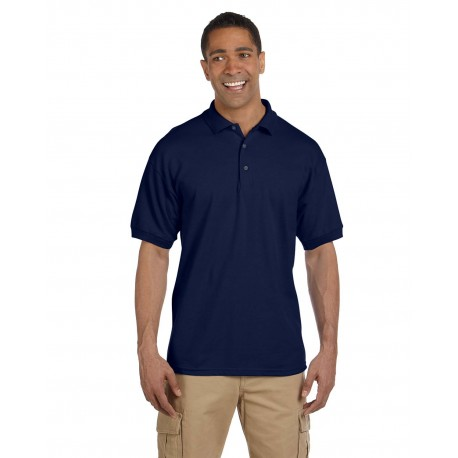 G380 Gildan G380 Adult Ultra Cotton Adult 6.3 oz. Pique Polo NAVY