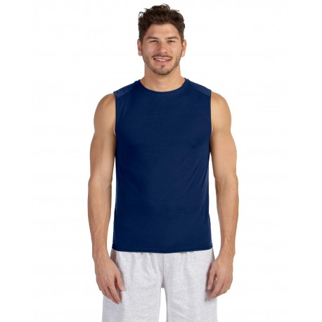 G427 Gildan G427 ADULT Performance Adult Sleeveless T-Shirt NAVY