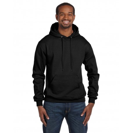 S700 Champion S700 Adult 9 oz. Double Dry Eco Pullover Hood BLACK
