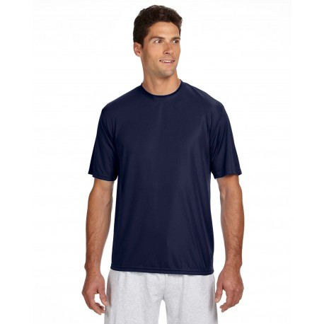 N3142 A4 N3142 Men's Short-Sleeve Cooling Performance Crew NAVY