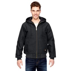 Dickies TJ718 Men's 10 oz. Hooded Duck Jacket