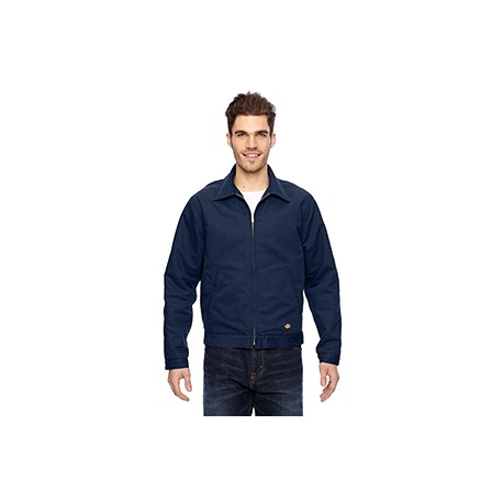 LJ539 Dickies LJ539 Men's 10 oz. Industrial Duck Jacket NAVY