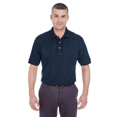 8535T UltraClub 8535T Men's Tall Classic Pique Polo NAVY