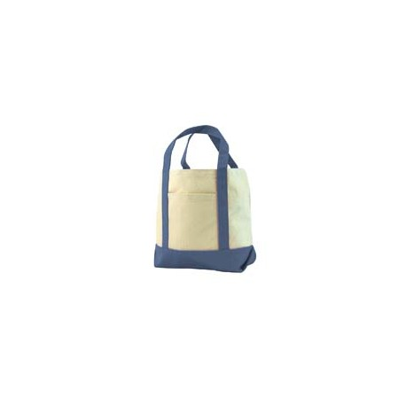 8867 Liberty Bags 8867 Seaside Cotton Canvas Tote NAVY