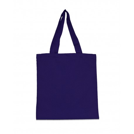 9860 Liberty Bags 9860 Amy Recycled Cotton Canvas Tote NAVY