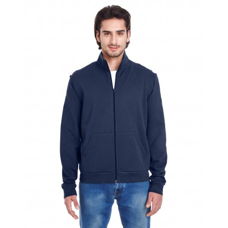 5431W American Apparel 5431W Unisex California Fleece Zip Jogger NAVY