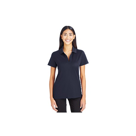 DG20W Devon & Jones DG20W Ladies' CrownLux Performance Plaited Polo NAVY