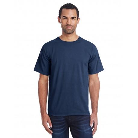 GDH100 ComfortWash by Hanes GDH100 Men's 5.5 oz., 100% Ringspun Cotton Garment-Dyed T-Shirt NAVY