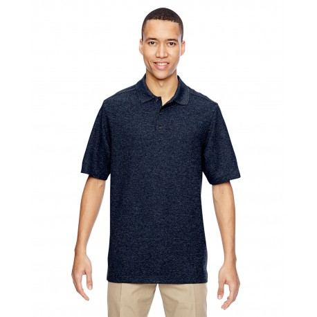 85121 North End 85121 Men's Excursion Nomad Performance Waffle Polo NAVY 007