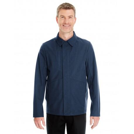 NE705 North End NE705 Men's Edge Soft Shell Jacket with Fold-Down Collar NAVY 007