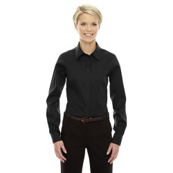 Devon & Jones DG530W Ladies' Crown Woven Collection Solid Stretch Twill