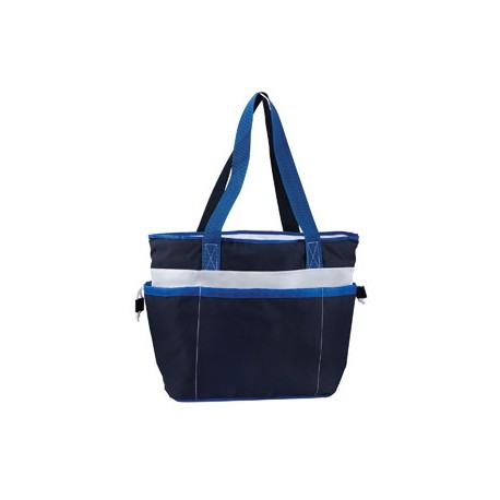 9251 Gemline 9251 Vineyard Insulated Tote NAVY BLUE
