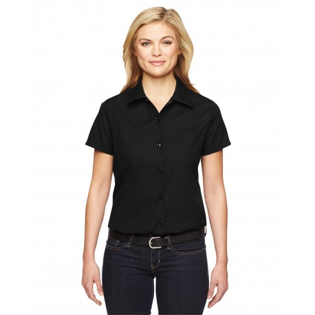 FS5350 Dickies FS5350 Ladies' Industrial Shirt BLACK