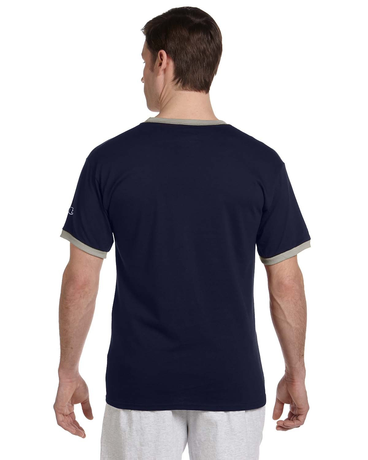 T1396 Champion NAVY/OXFORD GRY