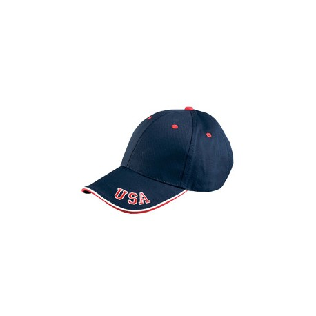 NT102 Adams NT102 The National Cap NAVY/RED/WHITE