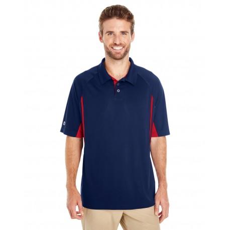 222530 Holloway 222530 Men's Avenger Short-Sleeve Polo NAVY/SCARLET