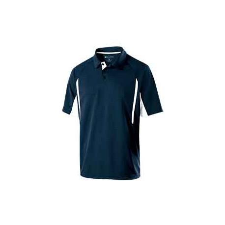 222530 Holloway 222530 Men's Avenger Short-Sleeve Polo NAVY/WHITE