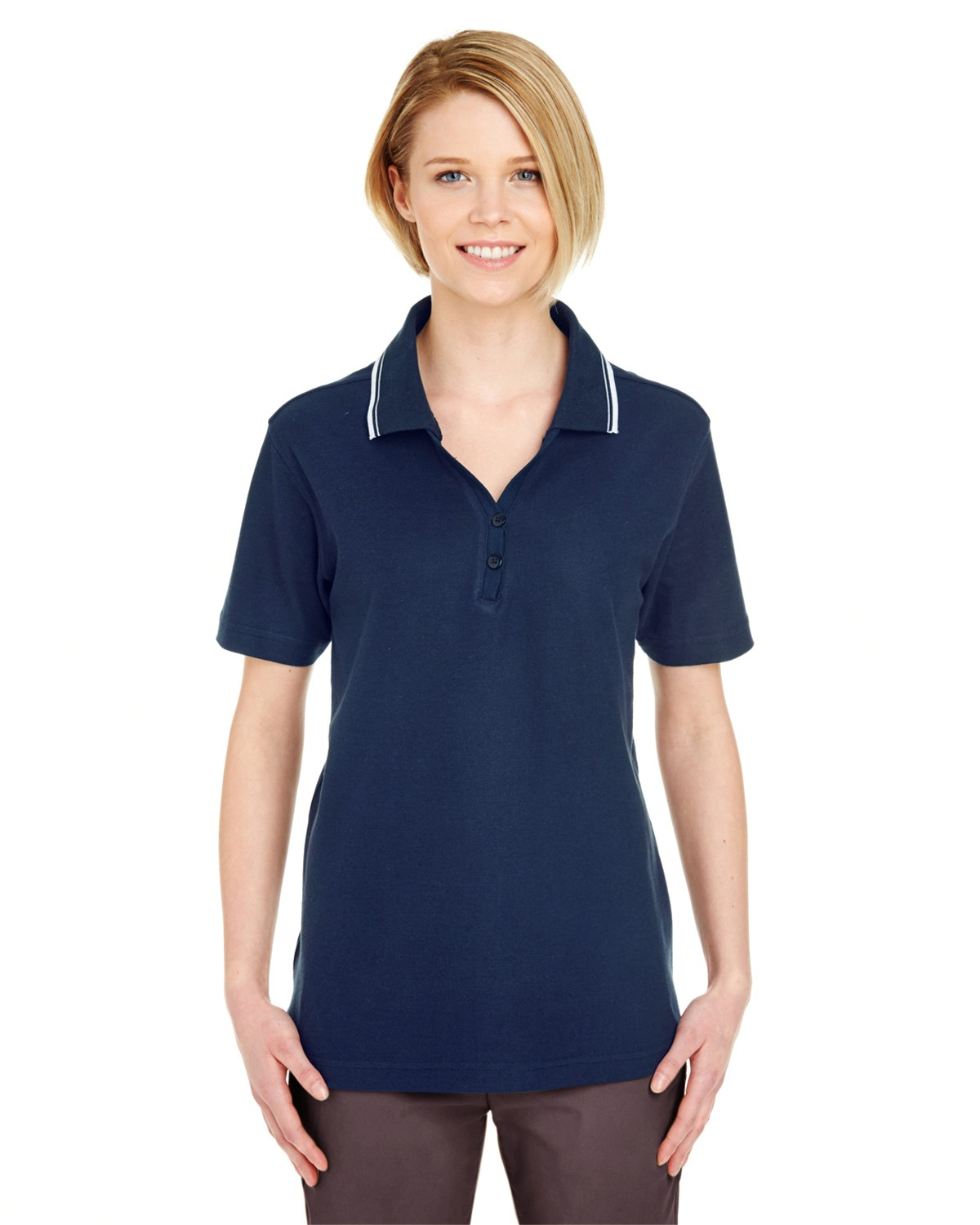 8546 UltraClub NAVY/WHITE