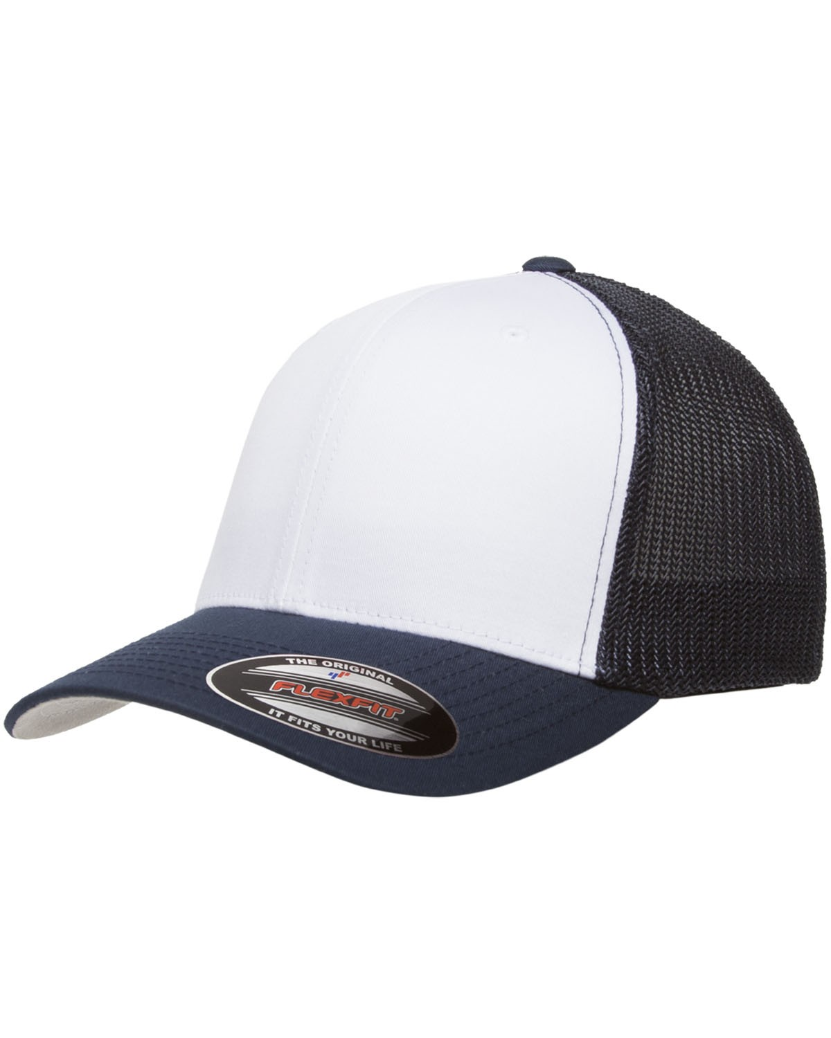 6511W Yupoong NAVY/WHT/NVY