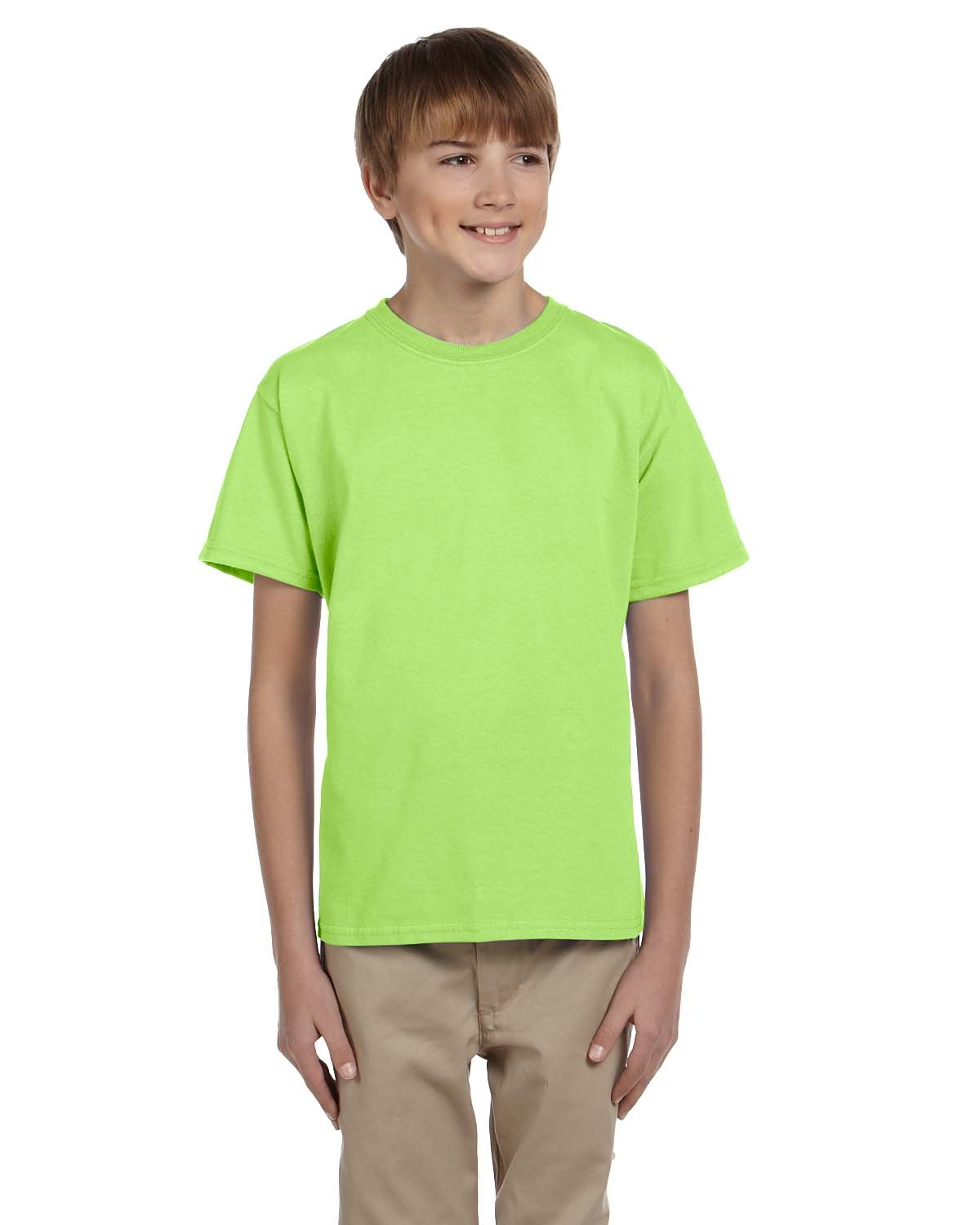 3931B Fruit of the Loom NEON GREEN