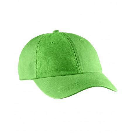 LO101 Adams LO101 Ladies' Optimum Pigment-Dyed Cap NEON GREEN